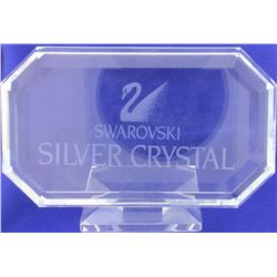 Swarovski Rectangular Crystal Plaque