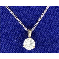 .28 Carat Diamond Pendant Drop