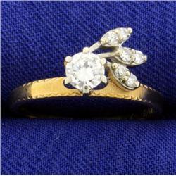 Vintage 1/2 ct Diamond Ring