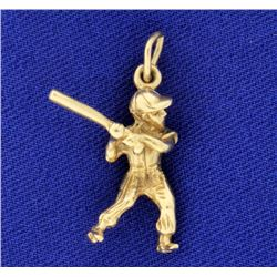 Little League Child Baseball Charm or Pendant