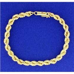 7 Inch Rope Style bracelet