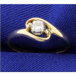 .15ct Solitaire Diamond Ring