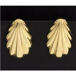 Seashell Gold Earrings