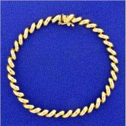 7 Inch San Marco Chain Bracelet
