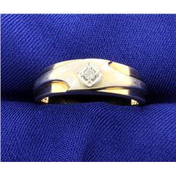 Men's Diamond Band Ring