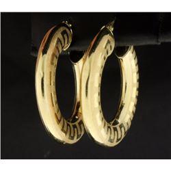 Unique Design Hoop Earrings