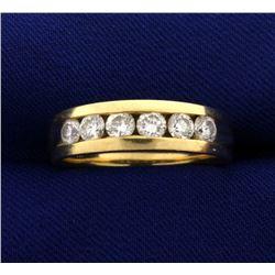 1 ct TW Men's Diamond Band Ring