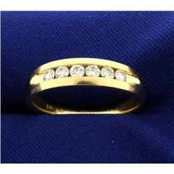 1/2ct TW Men's Diamond Band Ring