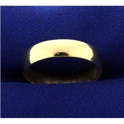 5mm Men's Wedding Band Ring
