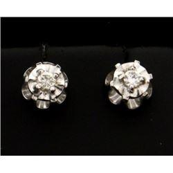 1/8ct TW Diamond Stud Earrings
