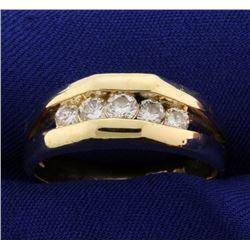 3/4ct TW Men's Diamond Band Ring