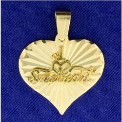 #1 Sweetheart Pendant
