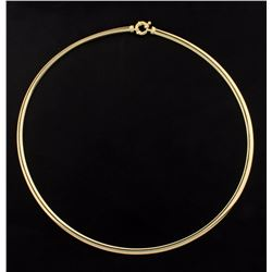 18 Inch Omega Necklace