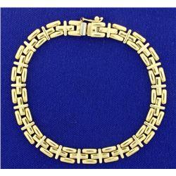 14K Yellow Gold Bracelet