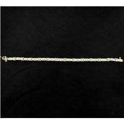 1.25ct Total Weight Diamond Bracelet