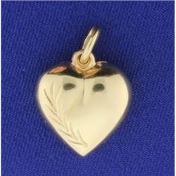 Heart Pendant or Charm