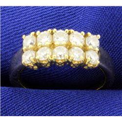 1ct TW Diamond Ring in 18k Gold