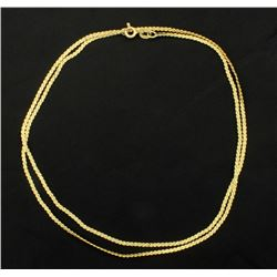 24 Inch Serpentine Chain