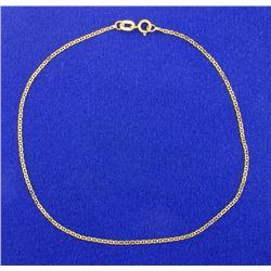9 Inch Anchor Chain Bracelet