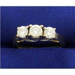 1ct TW Three Stone Diamond Ring
