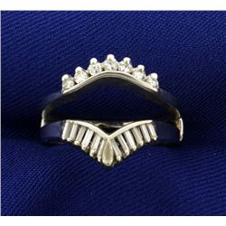 1/2ct TW Diamond Ring Jacket or Guard