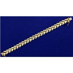 7 1/4 Inch Woven Link Bracelet