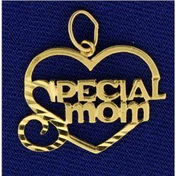 """Special Mom"" Pendant"