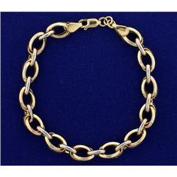 7 1/2 Inch Cable Link Bracelet