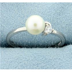 Over 6mm Pearl Ring