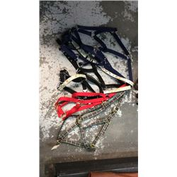 Group of 6 halters