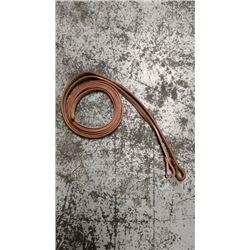 5/8 natural leather split reins
