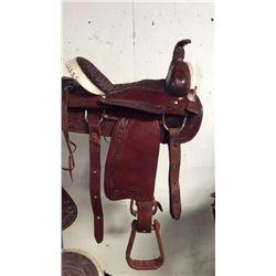 16inch tooled montana saddlery saddle