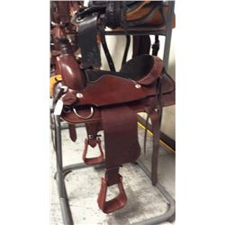 17 inch montana saddlery roping saddle