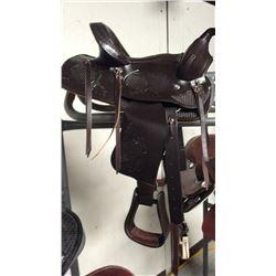 12 inch youth saddle