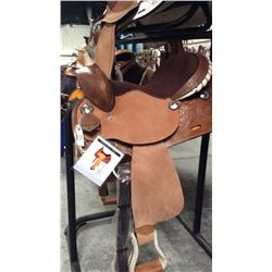 Double t 15 inch barrel saddle