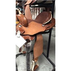 Double t 15 inch barrel saddle