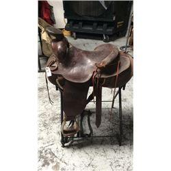 Used 15 1/2 inch saddle