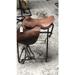 Used english saddle