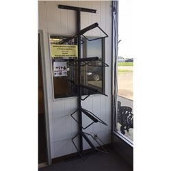 5 Tier Wall Mount Saddle Rack