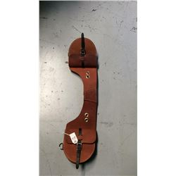 Calvary style harness leather saddle bag