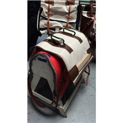 Complete decker pack saddle with half breed Pad not included
