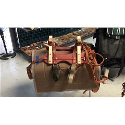 Sawbuck pack saddle Green pad not included
