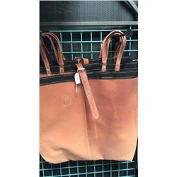 Orange iron cloth meat bags