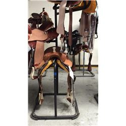 3 tier saddle stand (black)