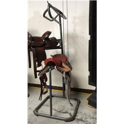 3 tier saddle stand (grey)
