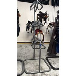 3 tier saddle stand (grey) missing rubber feet