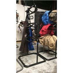 3 tier saddle stand (black )