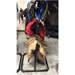 3 tier saddle stand