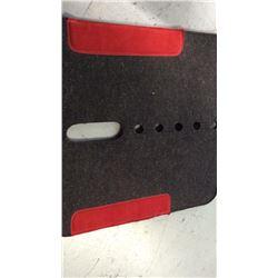 Vented felt pad
