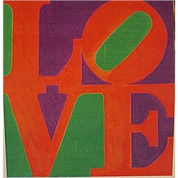 Robert Indiana - Love NO. 9